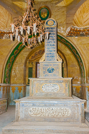 mohammad: Tombs of Mamelukes, City of Dead, Historic Cairo UNESCO World Heritage List, Egypt. The Tombs of Mohammad Alis Family.