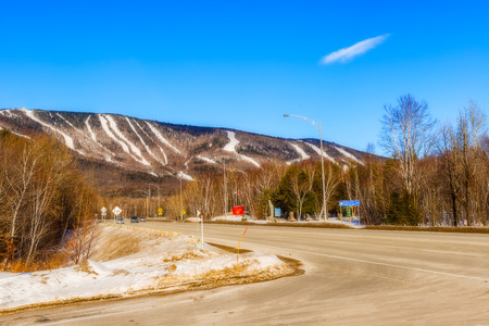 Mont  Sainte Anne part of the Laurentian Highlands, its flattened summit at 815 m dominates the north shore of the St Lawrence River, 40 km east of Quebec City. Mont Sainte Anne.  Internationally known for its Skiing facilities, 7 World Cup races have bee