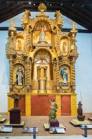 Convento de Santo Domingo museo litúrgico. En este museo, la antigua capilla de la Iglesia Dominicana fue restaurada con pinturas, ornamentos litúrgicos y esculturas de la época colonial.