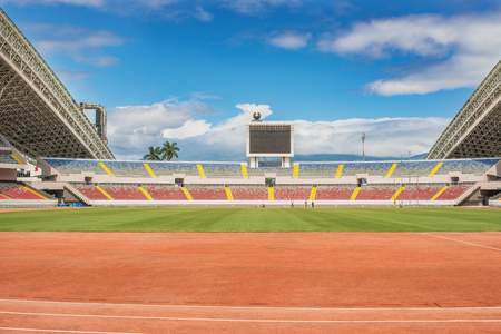 totality: The National Stadium of Costa Rica is a multipurpose stadium. The stadium was completed in 2011. The Chinese government financed the construction of the stadium in its totality, along with its furnishing, and assumed all other costs.
