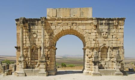 Roman Arch at Volubilis