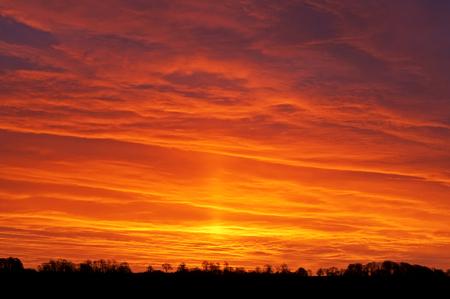 Sunset or Sunrise Фото со стока