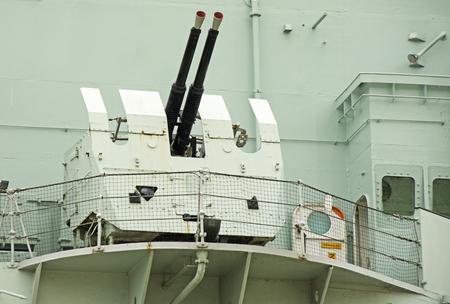 The Guns of HMS Belfast