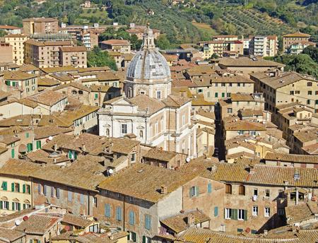 City in Tuscany, Italy Фото со стока
