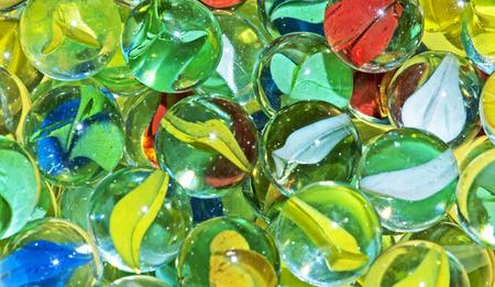 Closeup of Marbles