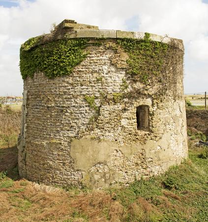 Napoleonic Martello Tower Фото со стока