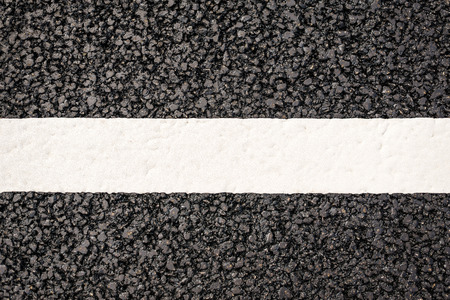 Line on the road photo