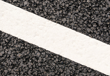 Line on the road