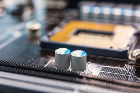 Capacitors: Capacitors on the system board