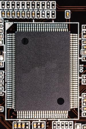 Computer-Chip hautnah Standard-Bild - 31585627
