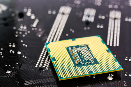 memory board: Microchip and memory on the system board