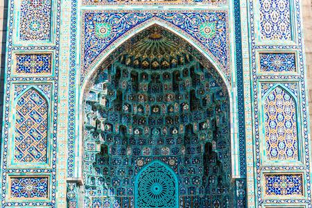 Elementen van de moskee Stockfoto