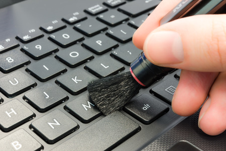 Cleaning computer photo