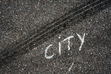 skidmark: City Stock Photo
