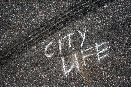 skidmark: City life concept