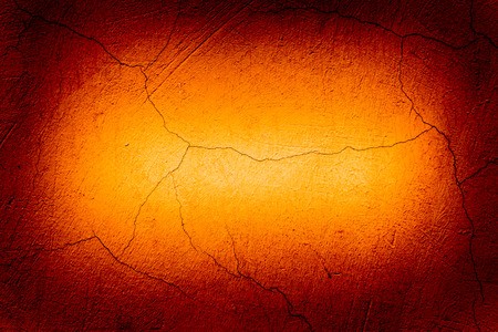 Cracked wall lighting photo
