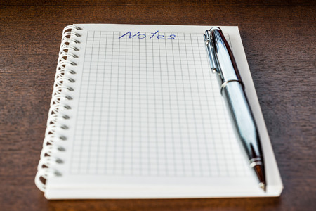 Notebook for the notes photo