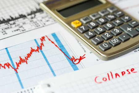 accident rate: Stock market decline, the counting losses