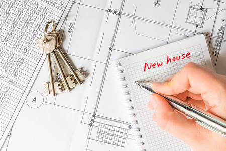 Buying a home, the signing of the purchase agreement