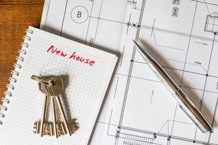 buying a home: Buying a home, the keys to your new house