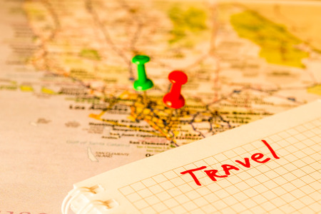 locations: Schedule vacation, note tacks locations
