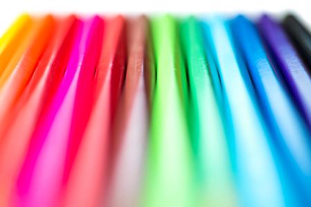 Anzahl der Farbstifte Standard-Bild - 46153672