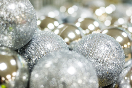 クリスマス ボールをクローズ アップ