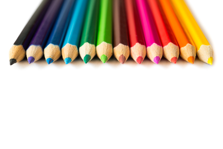 色鉛筆の数 写真素材