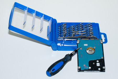 recovery: Hard Disk and Precision Screwdrivers - Data Recovery