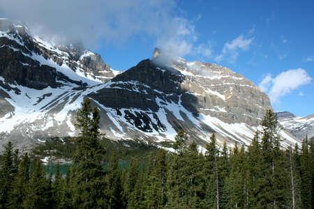 mountainscape: Rocky Mountains, Alberta, Canada