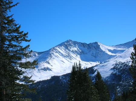 Rocky mountain panorama
