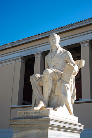 governor: statue of the first governor of independent Greece , Ioannis Kapodistrias