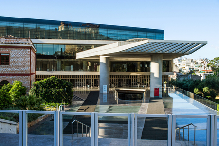 findings: Acropolis Museum in Athens