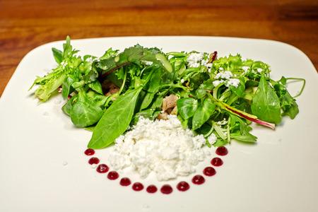 vegtables: Green salad with vegtables. Stock Photo