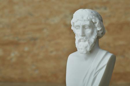 Estatua del filósofo griego antiguo Platón. Foto de archivo - 81994204