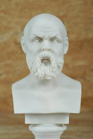 Statue of Socrates,ancient greek philosopher.
