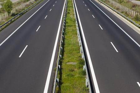 Empty highway. Stock fotó