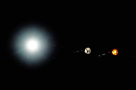 Theater spots lights. Stock fotó - 121627044