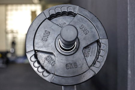 Free weights in the gym. Stock fotó - 121627175