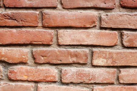 red brick wall as background. Reklamní fotografie