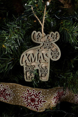 Christmas tree ornament Standard-Bild