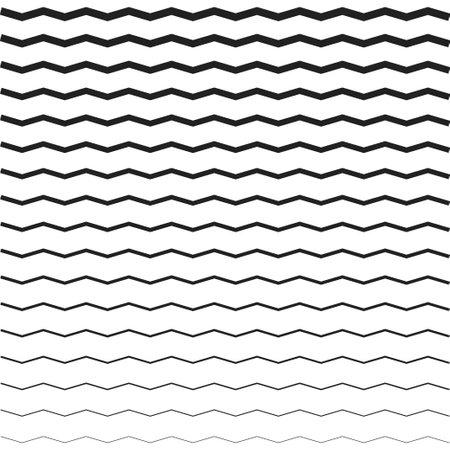 Zigzag pattern. Abstract wave.Seamless pattern for wallpaper design. Illusztráció