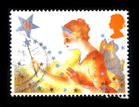 United Kingdom - CIRCA 1980: A stamp printed in United Kingdom shows image of the dedicated to the Christmas circa 1980. Stock Photo - 8150133