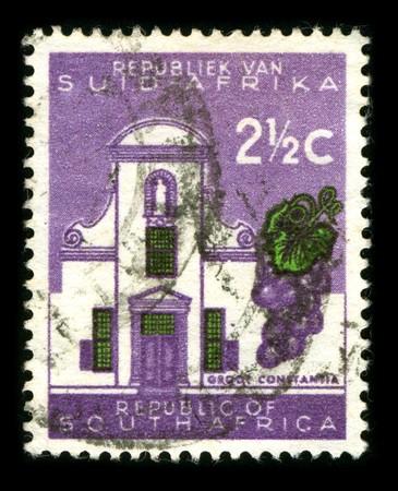 Republic Of South Africa - CIRCA 1980: A stamp printed in Republic Of South Africa shows image of the dedicated to the Church of South Africa circa 1980.