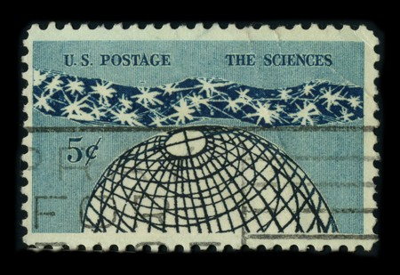predictions: USA - CIRCA 1960: A stamp dedicated to the Science (from the Latin scientia, meaning knowledge) is an enterprise that builds and organizes knowledge in the form of testable explanations and predictions about the natural world, circa 1960.