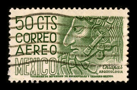 visard: MEXICO-CIRCA 1980:A stamp printed in MEXICO shows image of The Inca Empire, or Inka Empire (Quechua: Tawantinsuyu), was the largest empire in pre-Columbian America, circa 1980.