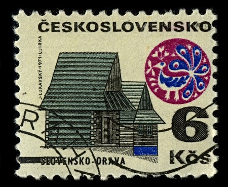 Czechoslovakia-CIRCA 1971:A stamp printed in Czechoslovakia shows image of Orava is the traditional name of a region situated in northern Slovakia (as Orava) and partially also in southern Poland (as Orawa), circa 1971.