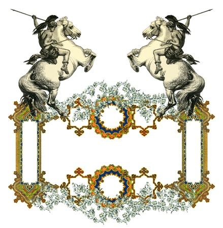 Luxuus Victorian frame Stock Photo - 12473015