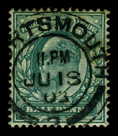 dominions: UK-CIRCA 1912:A stamp printed in UK shows image of George V was King of the United Kingdom and the British Dominions, and Emperor of India, from 6 May 1910 through the First World War until his death in 1936, circa 1912. Editorial
