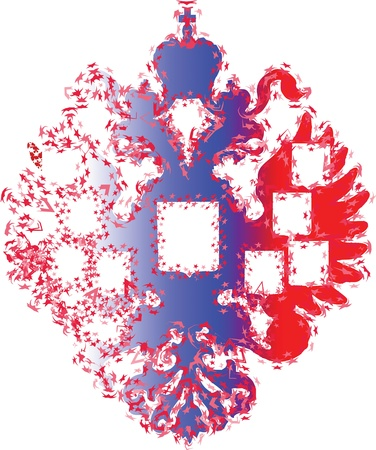 double headed: The double-headed eagle is a common symbol in heraldry and vexillology